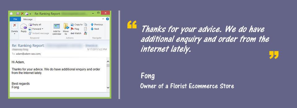 testimonials from fong
